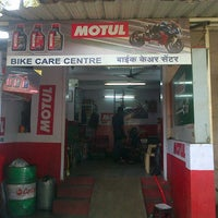 Photo taken at Bike Care Centre by Praveen S. on 5/15/2013