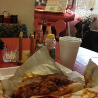 Photo taken at Dixie's BBQ by Jen R. on 12/5/2012