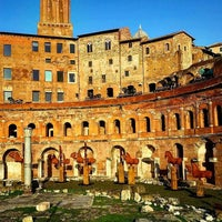 Photo taken at Mercati di Traiano by Francesco B. on 11/23/2016
