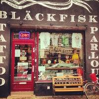 Photo taken at Bläckfisk Parlour by David L. on 1/18/2013