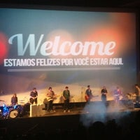Photo taken at Igreja No Cinema by Aniele on 8/17/2014