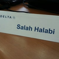 Photo taken at Delta Airlines by Jumana H. on 11/1/2012