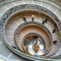 Photo taken at Vatican Museums by Jon S. on 1/16/2013