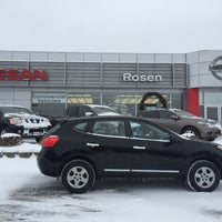 Photo taken at Rosen Nissan Milwaukee by Mallory O. on 1/8/2015