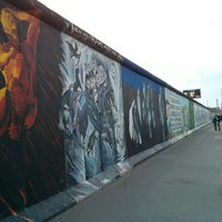 Photo taken at East Side Gallery by Rodrigo S. on 4/23/2013