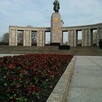 4/23/2013 tarihinde Rodrigo S.ziyaretçi tarafından Sowjetisches Ehrenmal Tiergarten'de çekilen fotoğraf