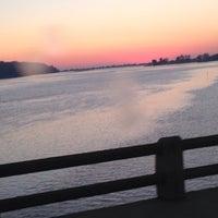 Photo taken at Oceanic Bridge by Jack D. on 9/20/2013