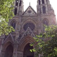 Photo taken at Basilique Sainte-Clotilde by Raquel C. on 8/9/2013