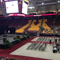 Photo taken at Mariucci Arena by Carlos L. on 5/17/2013