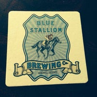 Photo taken at Blue Stallion Brewing Co. by Kimmee A. on 6/14/2014