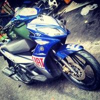 Photo taken at Super Racing Motorcycle Parts by Hazwan H. on 3/16/2013