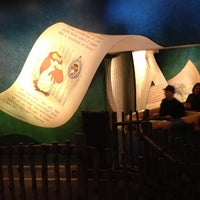 Photo taken at The Many Adventures of Winnie the Pooh by Tom A. on 2/4/2013