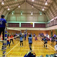 Photo taken at 道場小学校 by まぁ on 10/4/2014