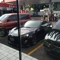 Photo taken at Caltex Gas Station by Brian P. on 12/16/2014