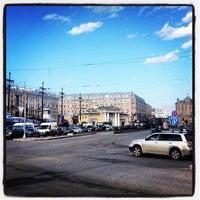 Photo taken at Sennaya Square by Vladislav S. on 4/19/2013