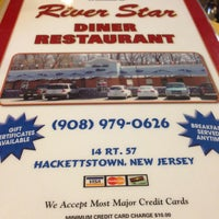 Photo taken at River Star Diner by Erin 🎀 Ariele on 8/30/2013