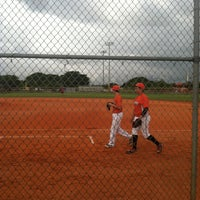 Photo taken at FIU Baseball Stadium by Alejandra G. on 6/7/2013