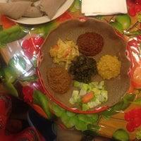 Photo taken at Awash Ethiopian Restaurant by Kelly B. on 1/26/2015