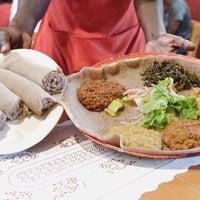 Photo taken at Awash Ethiopian Restaurant by Kelly B. on 10/27/2015