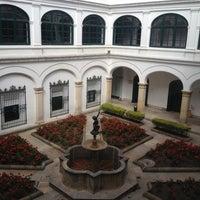 Photo taken at Palacio de San Carlos by Leonardo N. on 10/2/2012