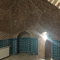 Photo taken at Qajar Bath | حمام و موزه قجر by Amir C. on 8/20/2016