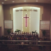 Photo taken at Da Nang Protestant Church by Yancy T. on 10/28/2012
