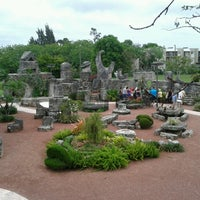 Photo taken at Coral Castle by Rob F. on 6/5/2013
