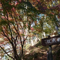 Photo taken at 牧水の滝 by SoLo on 11/19/2017