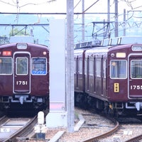 Photo taken at 能勢電鉄平野車庫 by としねこ on 5/25/2016