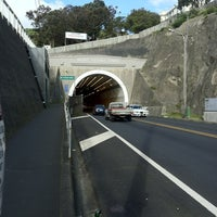 Photo taken at Mt Victoria Tunnel by James on 8/24/2013