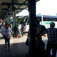 Photo taken at Terminal de Buses Santiago by Joseph D. on 2/4/2013