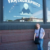 Photo taken at Fantagraphics Bookstore & Gallery by Rachel L. on 8/31/2013