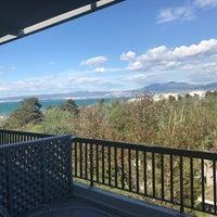 Photo taken at Sun Beach Hotel Thessaloniki by Ergin G. on 4/8/2017