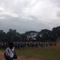 Photo taken at Marist School Football Grounds by XTyne on 1/10/2013