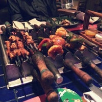 Photo taken at Barbeque Nation by Chaitanya T. on 12/28/2012