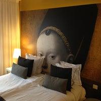 Photo taken at Sir Plantin Hotel Antwerp by Tobias M. on 2/1/2013