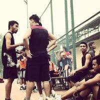 Photo taken at Lapangan Basket UMY by Try D. on 3/24/2014