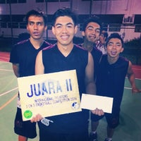 Photo taken at Lapangan Basket UMY by Try D. on 3/23/2014
