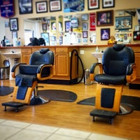 Photo taken at Franco's MVP barber shop by Rick G. on 8/13/2014