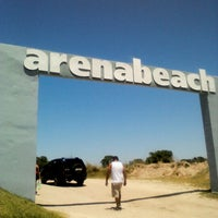 Photo taken at Arenabeach by sebastian d. on 1/6/2013