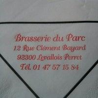 Photo taken at Brasserie du Parc by Jerome K. on 3/5/2014