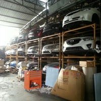 Photo taken at Yong Hup Seng Auto Supply by kenneth tay on 6/23/2015