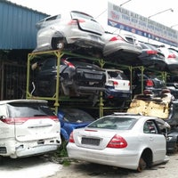 Photo taken at Yong Hup Seng Auto Supply by kenneth tay on 5/19/2014