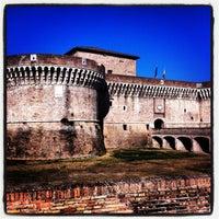 Photo taken at Rocca Roveresca by antonio r. on 8/22/2013