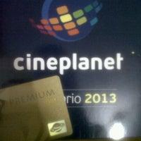 Photo taken at Cineplanet by David R. on 1/22/2013