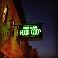 Photo taken at Park Slope Food Coop by Kat E. on 12/6/2012