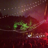 Photo taken at Friends Tent at Celebrate Brooklyn by Kat E. on 7/21/2013