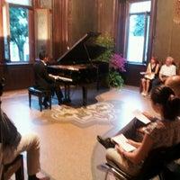 Photo taken at Villa Ottolini Tosi by Ghassan S. on 6/19/2013