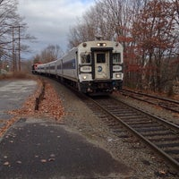 Photo taken at Metro North - Naugatuck Train Station by Ray C. on 12/7/2013