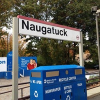 Photo taken at Metro North - Naugatuck Train Station by Ray C. on 10/19/2013